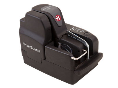 First picture of Burroughs SmartSource Merchant Elite check scanner